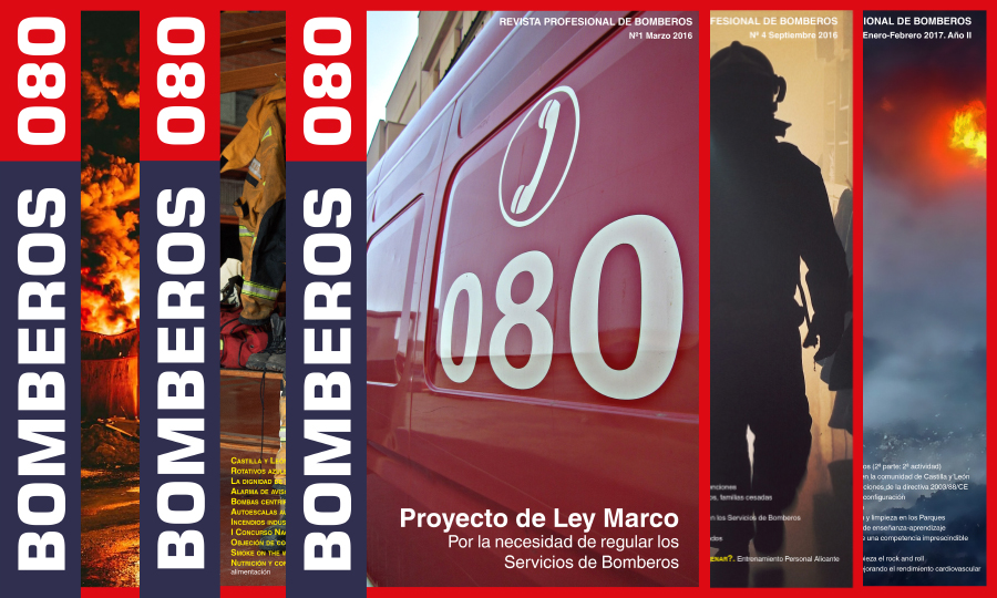 BOMBEROS 080 (Nº 1 Marzo 2016)