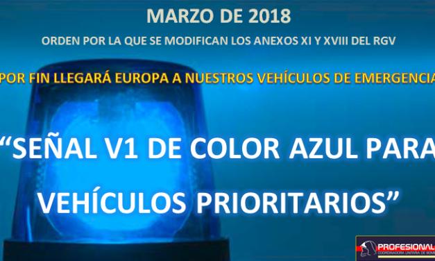 Director DGT: Rotativos azules para marzo de 2018